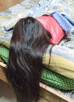 Bun Hairstyles For Long Hair, Indian Hairstyles, Girl Hairstyles, Hair Girls, Silky Hair, Beautiful Long Hair, Rapunzel, Romantic, Long Hair Styles