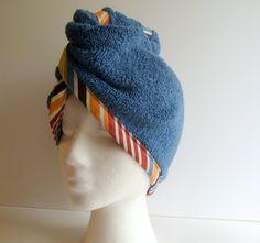Miss Twist Beauty Wrap - Handmade Terry Cloth Turban