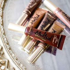 NEW Melted Chocolate Lipsticks launching December 8th on toofaced,com