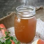 """Rich and Flavorful - Homemade Vegetable Broth Recipe"" ""With Thanksgiving just next week, it's the perfect weekend to make a large batch of nourishing stock for your side dishes and gravy! Here are my simple and nourishing recipes for chicken and beef broth -->"" -My Humble Kitchen blogger shares"