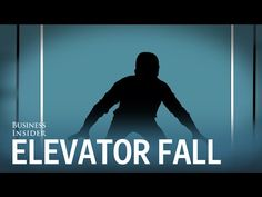 How To Survive A Free-Falling Elevator - Step One: Don't get distracted. Always look before you get in so as not to fall into an empty elevator shaft.  - Then...