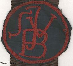 Badge of the Breslau Jewish Swimming Club (Breslauer Jüdischer Schwimm-Verein'.