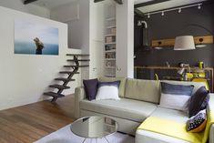 Квартира с мезонином наСмоленском бульваре — The Village
