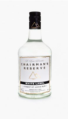 Chairman's Reserve White Label is a blend of three to four year old rums distilled in a combination of copper pot stills and a Coffey still and has been aged in American white oak casks. We have tried to make white rum with refreshing citrus notes, complexity, and a balance that allows it to be best used as a base for cocktails and other mixed drinks.