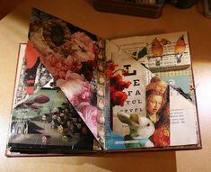 Where crows die scrap collage book