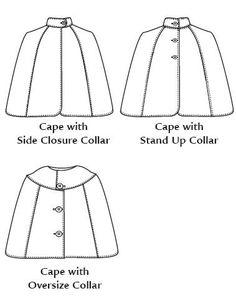 Free Cloak Pattern | Knitting Bordado Hooded Cape Pattern, Cloak Pattern, Hood Pattern, Free Pattern, Simplicity Sewing Patterns, Sewing Patterns Free, Free Sewing, Knitting Patterns, Wedding Cape