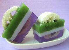 Gift for Gardener. Scrub. Gardner Gift. Loofah Soap, Calming Lavender Vanilla…
