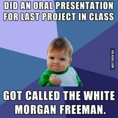 The white Morgan Freeman.