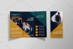 Business Tri-fold Brochure - Nil by NEXDesign on @creativemarket