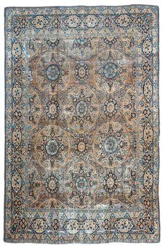 Ravar Kerman Antique Rugs by Woven Accents