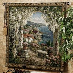 Seaview Hideaway Wall Tapestry