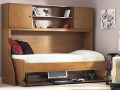 IKEA Walls Beds Kits | Full Size Murphy Bed: Full Size Murphy Bed With Minimize Design ...