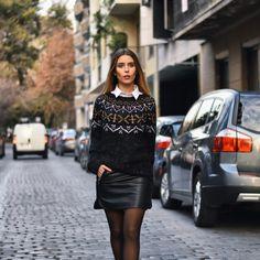 #streetstyle #totalblack #leather