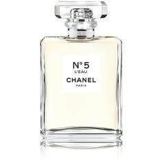 CHANEL N 5 L'Eau Spray 100ml ($125) ❤ liked on Polyvore featuring beauty products, fragrance, chanel, spray perfume, chanel fragrance and chanel perfume