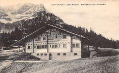 Switzerland Summer Our Chalet Adelboden
