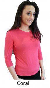 Rayon 3/4 Sleeve Tops - $20.00 :: DCM Apparel - Modern Modest Clothing