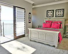 Bedroom Teen Girls Bedrooms Design, Pictures, Remodel, Decor and Ideas - page 37.  Like the headboard  footboard home-design