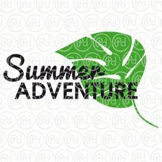 Plotter Freebie Summer Adventure