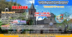 Tour Package 1:  BULACAN                                                Biak na Bato National Park Barasoain Church Light and Sound Museum Casa…