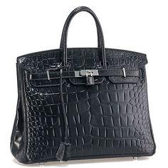 Hermès Alligator Birkin 35 Black