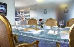 Dine centre stage at The Chef's table and watch the Michelin magic unfold in front of you.