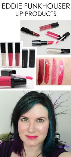 Eddie Funkhouser Lip products. These are pigmented, moisturizing and affordable!