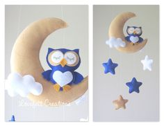 Baby mobile Owl mobile Crib Mobile Owl Baby par LoveFeltXoXo