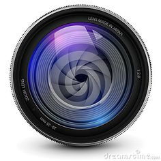 Illustration about Camera photo lens with shutter. Illustration of aiming, device, photograph - 25889840 Photography Business Cards, Photography Basics, Photography Camera, Lens Logo, Camera Logo, Kodak Camera, Camera Icon, Church Icon, Photo Lens