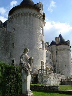 Château de la Roche-Courbon à Saint Porchaire, France