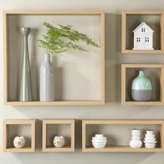 New wall shelf layout beds ideas Living Room Decor, Decor Room, Wall Decor, Cheap Home Decor, Diy Home Decor, Ikea Shelves, Box Shelves, House Plants Decor, Wall Shelves Design