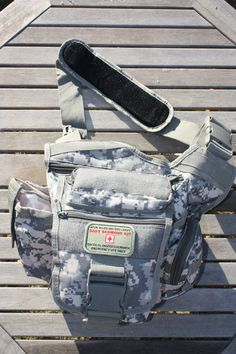 Finally-A functional and manly diaper bag that dad will actually carry! Daddy Doodie Bag Military Style Tactical Diaper by TacticalTot, $53.99