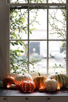 Bepaalde decoratie kan je linken met jaargetijden. Ik heb gekozen voor deze afbeelding omdat je duidelijk kan zien om wat voor jaargetijden het gaat en de sfeer. Ik wil in mijn boek ook herfstdecoraties gebruiken zodat de lezers kunnen zien wat voor tijd het is van het jaar.
