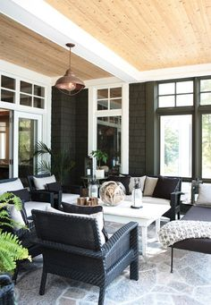 I would love a sun room. Still get the beautiful lighting but I can sit in the A.C.!