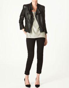 leather jacket $250