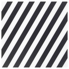IKEA - PIPIG, Place mat, striped, black/white, Protects the table top surface and reduces noise from glasses and mugs. Kallax, Glass Cabinet Doors, Glass Shelves, Glass Doors, White Plastic Table, Brimnes, Plastic Foil, Painted Drawers, Ikea Family