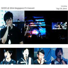 Mayday @ 2014 Singapore F1