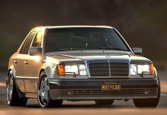The Benz That Porsche Built - Mercedes-Benz Mercedes 124, Classic Mercedes, Porsche Build, Porsche Factory, Mercedez Benz, E 500, Car Sounds, Benz E Class, Sports Sedan
