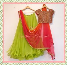 Designer lehenga green lehenga readymade blouse lehenga choli for women indian lehenga skirt g Lehenga Choli, Lehenga Indien, Blouse Lehenga, Green Lehenga, Indian Lehenga, Anarkali Dress, Lehenga Skirt, Rajasthani Lehenga, Half Saree Designs