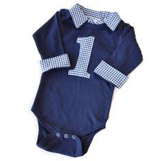 Birthday Shirts Baby Boy First Birthday Outfit – Navy with Navy Gingham First Birthday Outfits Boy, Baby Boy First Birthday, Birthday Dresses, Birthday Shirts, Preppy Baby Boy, Boy Outfits, Gingham, First Birthdays, Birthday Ideas