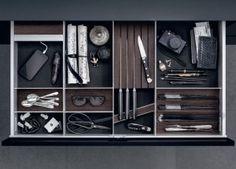 Een goede ladeverdeling maakt het makkelijker om spullen terug te vinden.