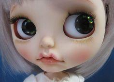 Ritta ~ Custom Blythe, Little Bit Rabbit-Chan  Buy her here:   #blythe #blythedolls #kawaii #cute #rinkya #japan #collectibles #neoblythe #customblythe