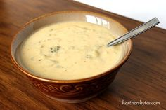 Broccoli Cheese Soup Bowl Of Soup, Soup And Salad, Soup Recipes, Cooking Recipes, College Cooking, Broccoli Cheese Soup, Getting Hungry, Soup And Sandwich