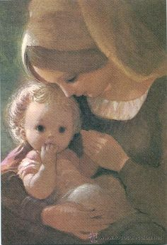 Mary I, Mary And Jesus, Holy Mary, I Love You Mother, Mothers Love, Mother And Child, Jesus Mother, Blessed Mother Mary, Angel Pictures