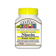 Niacin Flush Free, 500 mg 110 Caps AED172.00 #UAESupplements