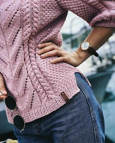 Diy Crafts - -Spectacular choices to consider Knittingbeginner Crochet Baby Poncho, Crochet Top Outfit, Knit Crochet, Knitwear Fashion, Knit Fashion, Fall Knitting, Casual Tops For Women, Casual Fall Outfits, Knit Patterns