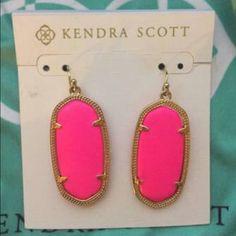 Kendra Scott Neon Elle earrings Kendra Scott Neon Elle earrings, includes dustbag. Will sell for less on Ⓜ️erc! Kendra Scott Jewelry Earrings