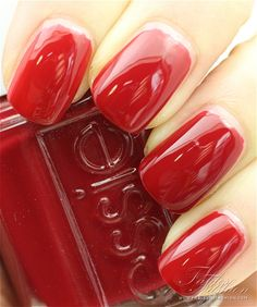 Essie Fall 2012 Stylenomics collection. So glossy they look like gel polish!!