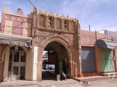 Entrance gate to the souk