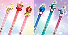 Sailor Moon Moon Power & Planet Power Ball Pen Sets
