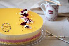   Bavarois framboise, mangue, vanille et fruit de la passion   http://carottesjaunestomatesroses.com
